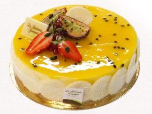 Pâtisserie entremet pâtissier l'Exotique - La Chocolaterie Gourmande à Amboise