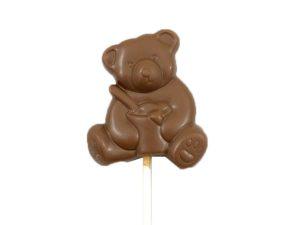 Sucette Ours Chocolat au Lait