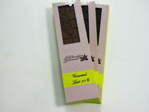 Tablette de chocolat au lait caramel 31%