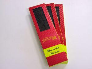 Tablette de chocolat noir 64% Fleur de sel