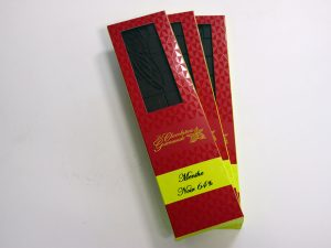 Tablette de chocolat noir 64% Menthe