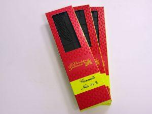 Tablette de chocolat noir 69% Cannelle