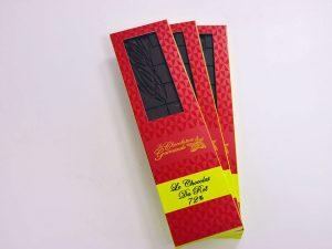 Tablette de chocolat noir 72% Le chocolat du Roi