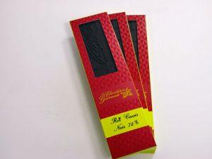 Tablette de chocolat noir 72% Roi cassis