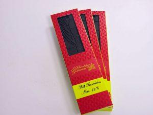 Tablette de chocolat noir 72% Roi framboise