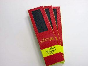 Tablette de chocolat noir 70% Saint Domingue