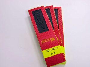 Tablette de chocolat noir 70% Sao Thomé