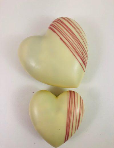 Coeurs blanc