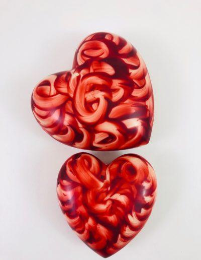 Coeurs rouge deco