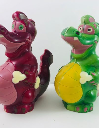 Dragons vert-violet
