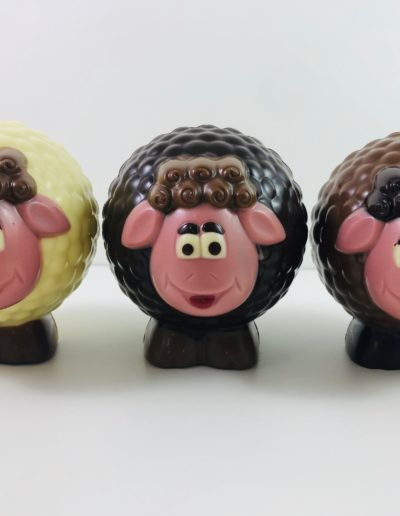 moutons boule assortis