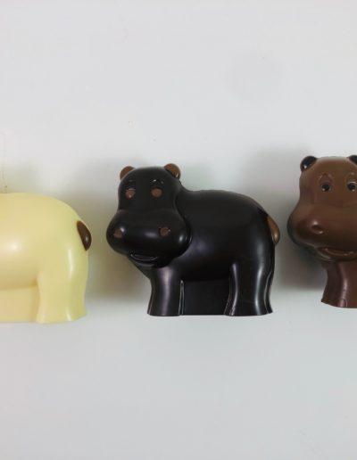 hippopotames assortis