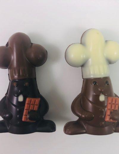 lapins chocolatier assortis